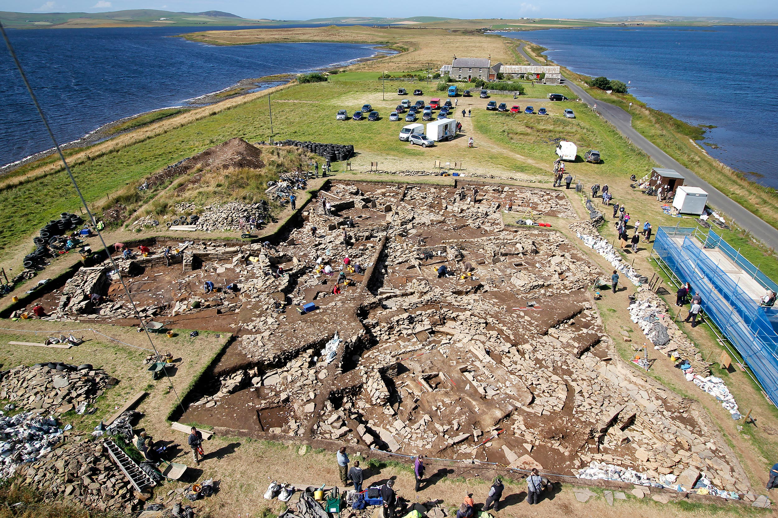 'The First Digger at the Ness of Brodgar'