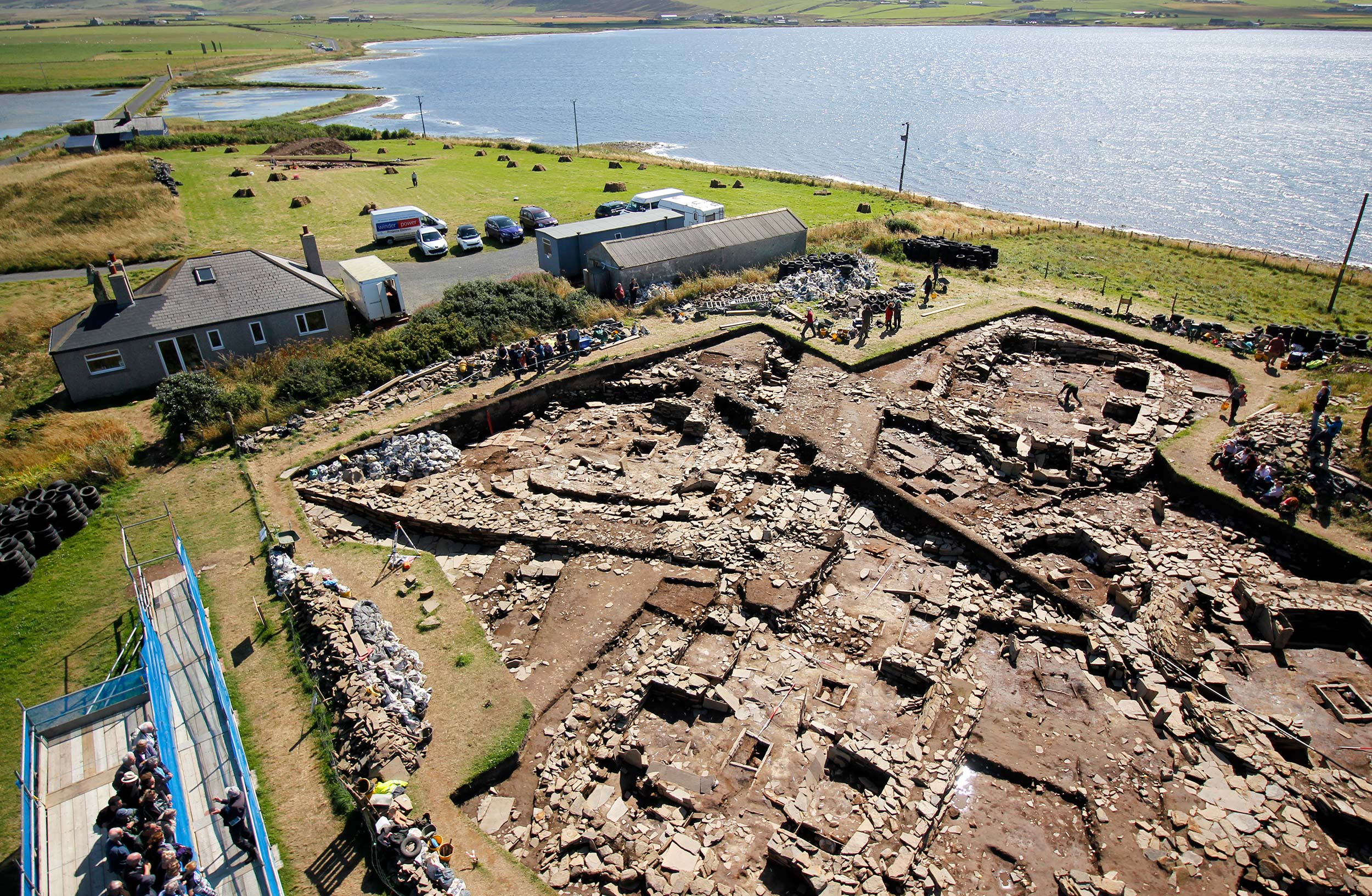Library talk to launch new book on Neolithic Orkney