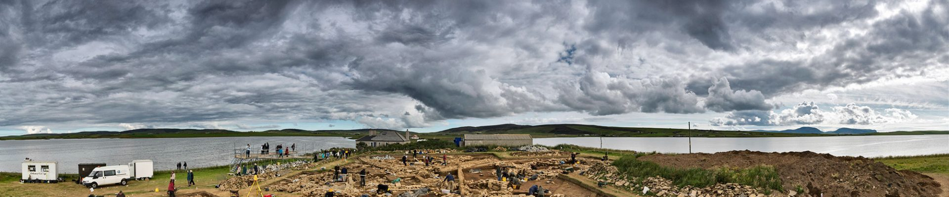"The ""Brodgar Boy"" found at the 2011 excavations on the Ness of Brodgar, Orkney."