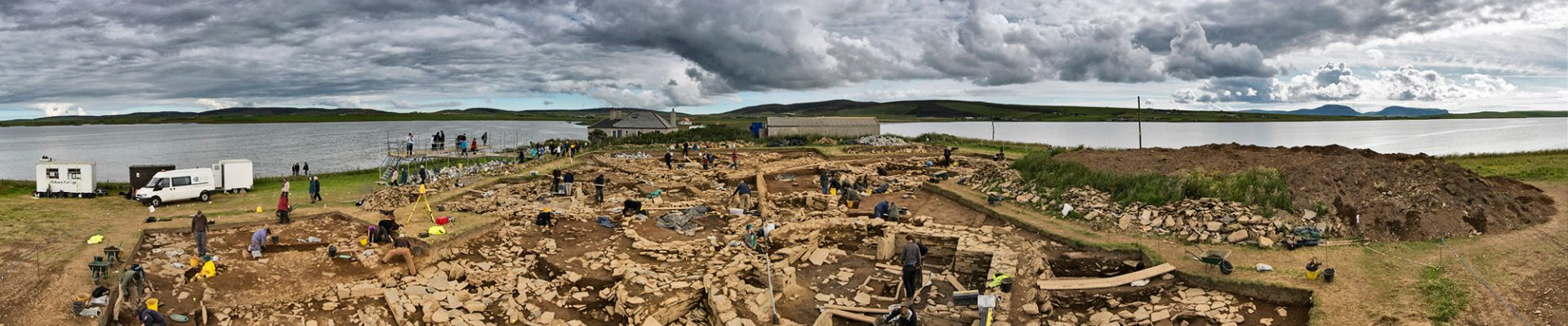 Still places for young archaeologists at Ness workshops