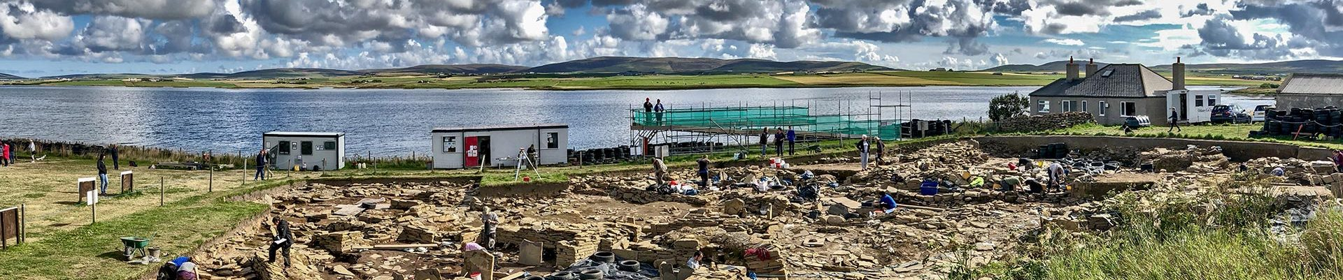 New panoramic views of 2012 excavations