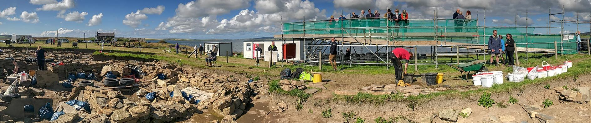 Archaeology safaris — The Ness of Brodgar 2012
