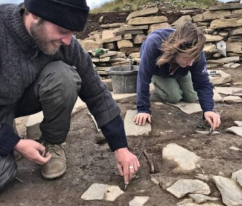 Second human arm bone found inside Structure Ten